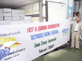 Qurban Distribution 2007 1
