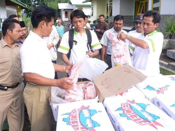 Qurban Distribution 2007 4