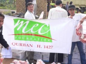 Qurban Distribution 2007 8
